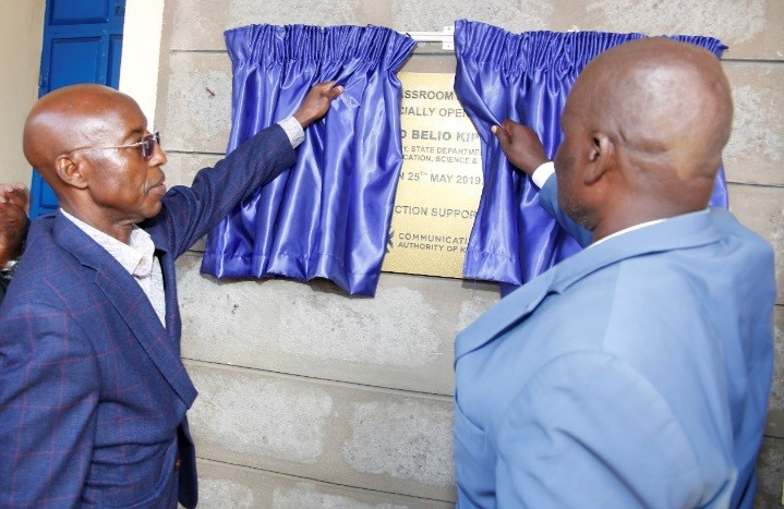 Authority launches Classroom blocks and teachers Quarters